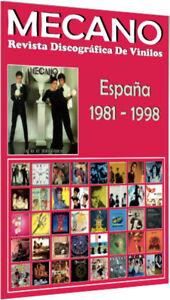 MECANO-Revista-Discografica-De-Vinilos-Discografia-Espanola-1981-1998-Guia
