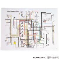 Full Color Wiring Diagram, Porsche 356c/sc (64-65)