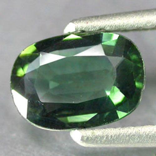 0.88Cts World Best Quality Hi-End Sparkling Gem  Natural GREEN SAPPHIRE NSP042
