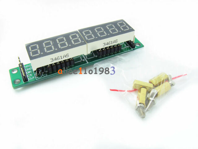 10PCS MAX7219CWG  8-Digit  Digital Tube Display Control Module Red For arduino