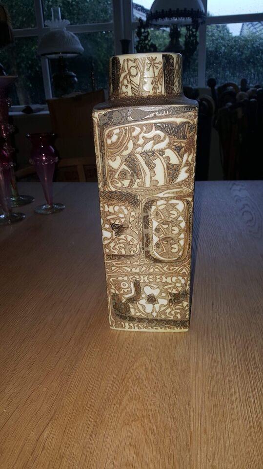 Vase, Stor vase, Royal Copenhagen Aluminia