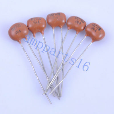 10pc Silver MICA Capacitor 390pF 500V Radial for guitar amps tone tube audio New