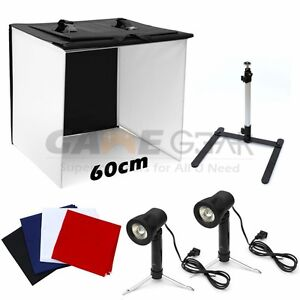 Photo-Studio-24-034-Photography-Light-Tent-Backdrop-Kit-60cm-Cube-Lighting-In-A-Box