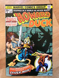 Howard-the-Duck-1-Marvel-Comics-1976-Very-Fine-Plus-VF-Bronze-Age-Issue