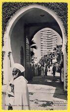 cpsm MAROC MOROCCO Photo Flandrin CASABLANCA Palais du SULTAN Immeuble Liberté