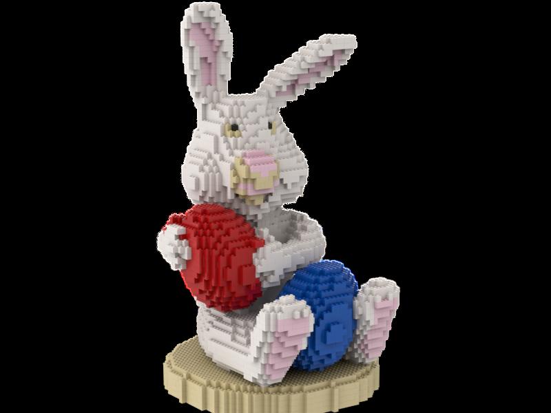 Lego Lapin de Pâques Statue Building instruction