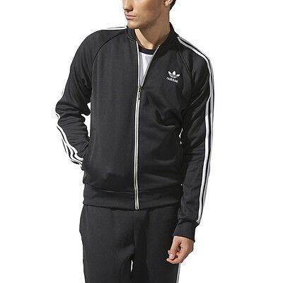 Adidas Men's Superstar Black Originals Track Jacket S19175 NEW!