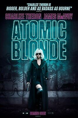 "Atomic Blonde Movie Poster 24/""x36/"" USA SELLER"