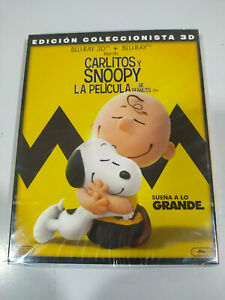 Carlitos-Y-Snoopy-La-Film-Blu-Ray-3D-Spagnolo-Inglese-nuevo