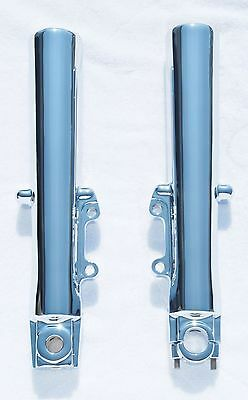 "Harley TOURING Electra Glide Ultra 2000-13 Chrome Lower Slider Fork ""EXCHANGE""."