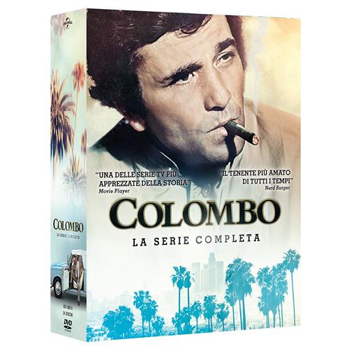 STV *** COLOMBO - La Serie Completa (24 Dvd) *** sigillato