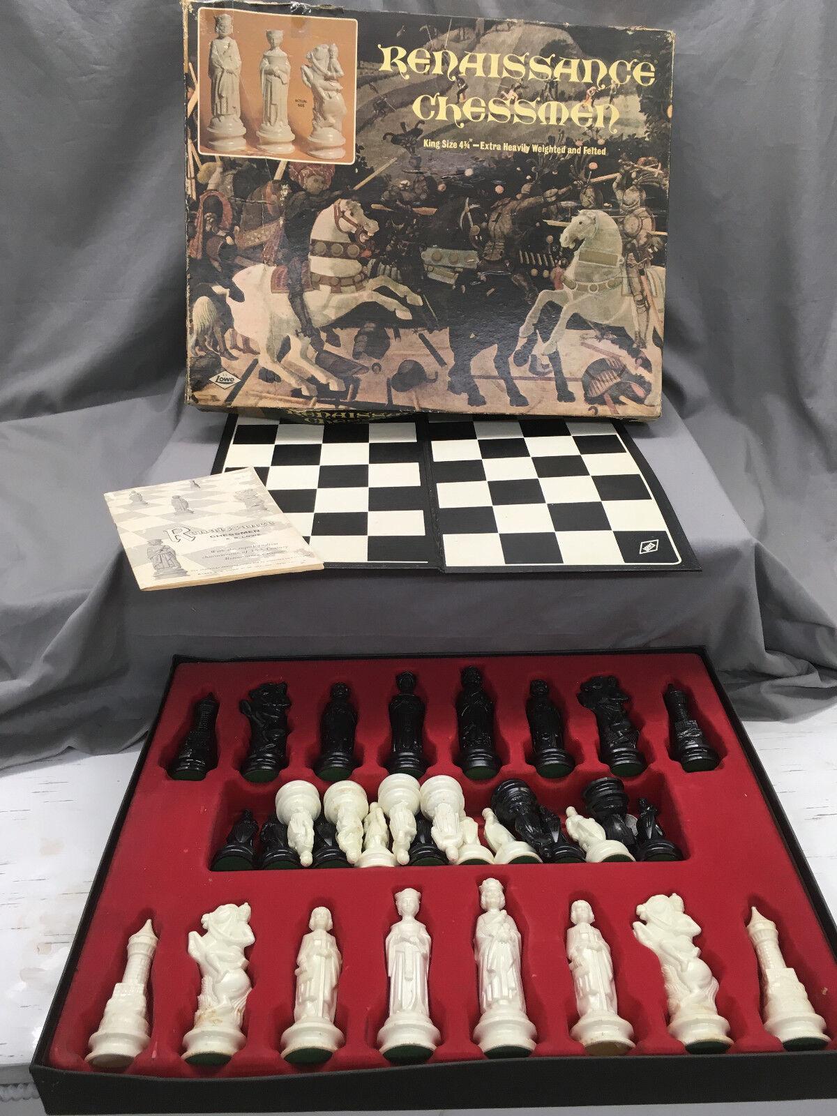 Jahrgang 1959, renaissance - schachfiguren von lowe brettspiel (ag)