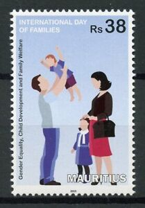Mauritius-2019-MNH-International-Day-of-Families-1v-Set-Cultures-Stamps