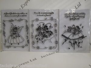 Acrylic-Stamp-Friends-Fairy-A5-Sheet-3-Designs-to-choose-Cardmaking-Scrapbooking