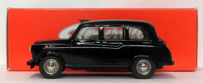 Somerville Models 1 43 Scale 100A - Austin FX4 Taxi - Navy blueee