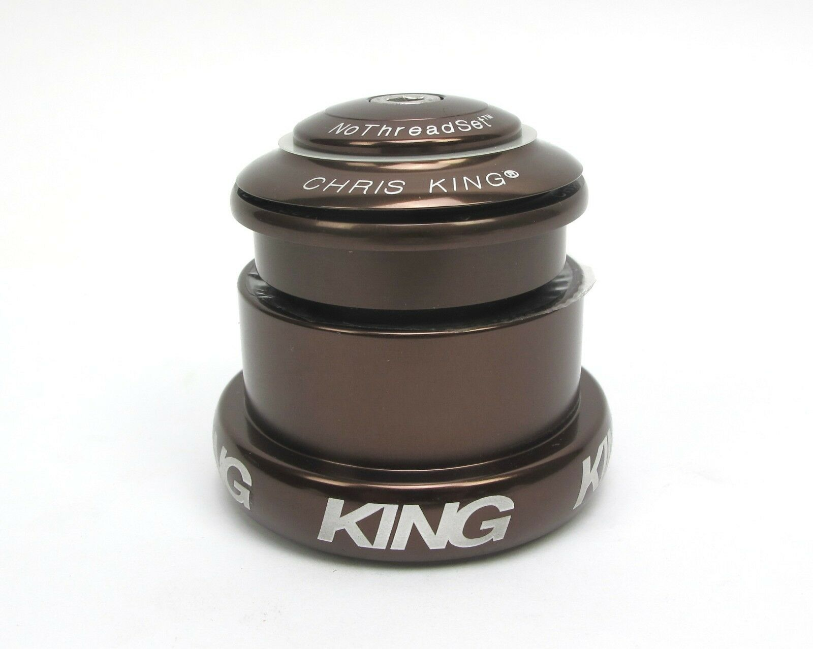 Chris King Inset 3 Headset ZS44   EC49 Brown i3 - 10 Year Warranty