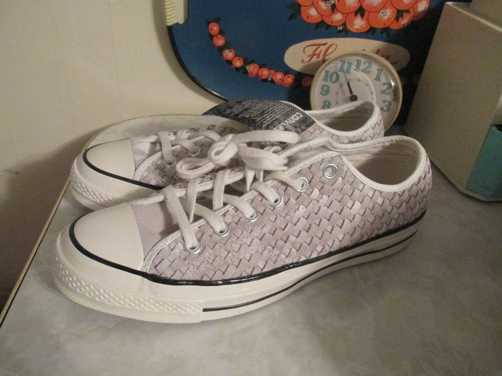 CONVERSE CHUCK TAYLOR ALL STAR '70 WOVEN SUEDE LO SNEAKERS SIZE MEN 9 W 11