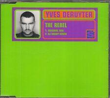 MAXI CD SINGLE 2 TITRES--YVES DERUYTER--THE REBEL--1997