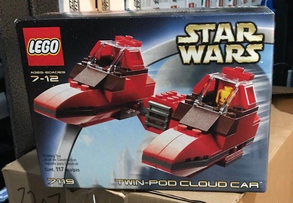 l'intera rete più bassa LEGO Set 7119 Estrella Guerras Twin-Pod Cloud auto nuovo nuovo nuovo & Sealed  lo stile classico