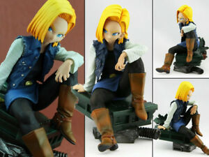 Anime-Dragon-Ball-Z-DBZ-Figure-Jouets-Android-18-Figurine-Statues-15cm