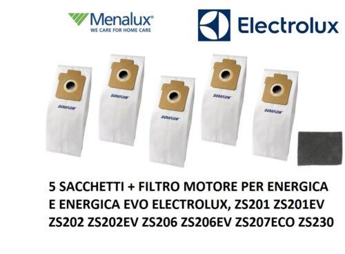 MENALUX 1073 SACCHETTI ASPIRAPOLVERE ELECTROLUX ENERGICA ZS230B