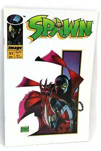 Spawn-21-1st-Print-The-Hunt-Part-1-Todd-McFarlane-1994-Image-Comics-Comic-VG-F