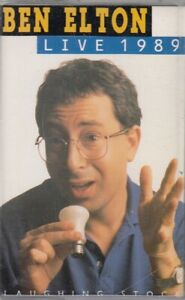 Ben-Elton-Live-1989-Cassette-Audio-Comedy-Hammersmith-Odeon-Stand-Up-Humour