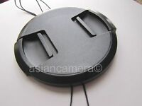 Front Lens Cap For Fuji Finepix S100 S205 Exr S200 Exr With Cap Keeper Holder