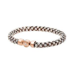 Image Is Loading Michael Kors Mesh Rose Gold Tone Bracelet Mkj4784791