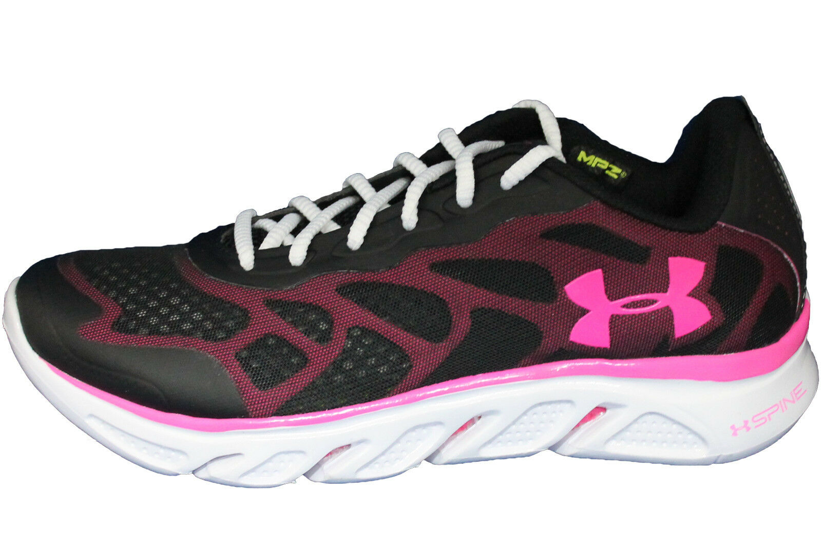 Womens Under Armour Micro G Spine Venom PIP Running Shoe-1240101-001