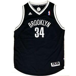 the best attitude c5fde 3ef3f Paul Pierce ADIDAS Brooklyn Nets Black Away Swingman Jersey ...