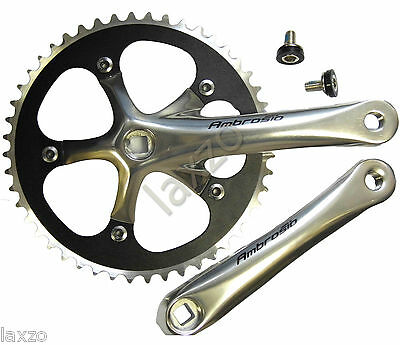 Ambrosio Prestige Track Chainset 48 tooth Fixed, Fixie Pista bicycle cycle bike