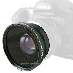 58mm-0-45x-wide-Lens-for-Canon-XT-XTi-XS-XSi-T1i-T2i