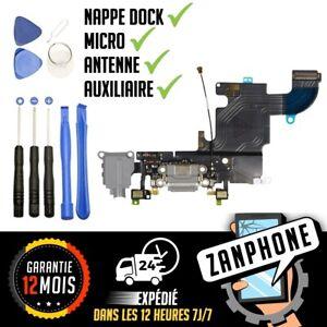 iPhone-6S-NAPPE-CONNECTEUR-DE-CHARGE-PORT-LIGHTNING-MICRO-ANTENNE-RESEAU-GRIS