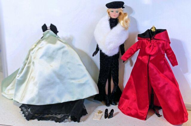 2001 Ltd. Ed. Lisette BFMC Silkstone Barbie Doll w/Extra Clothes & Access.