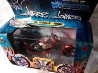 "New West Coast Choppers Jesse James ""EL Diablo-Rigid"" 1:18 Scale Orange"