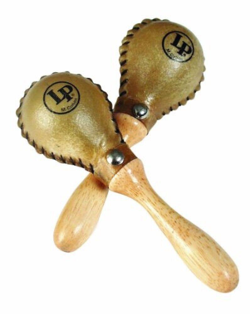 Latin Percussion LP285 Mini Rawhide Maracas 1 Pair Musical Instruments World