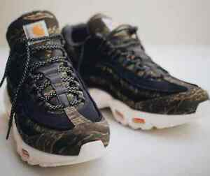 wholesale dealer 554d7 90482 Image is loading 2018-Carhartt-x-Nike-Air-Max-95-WIP-