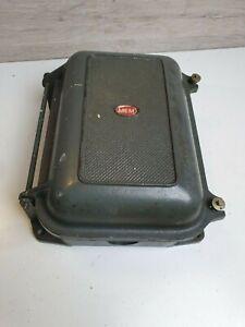 VINTAGE 2 POLE CAST IRON INDUSTRIAL SWITCH / FUSE BOX BY MEM MEMAJOR 250 V  60AMP | eBayeBay