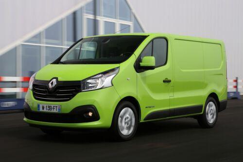 Sitzbezüge 1+2 für Renault Trafic III ab 2014 Kunstleder hier in SCHWARZ.