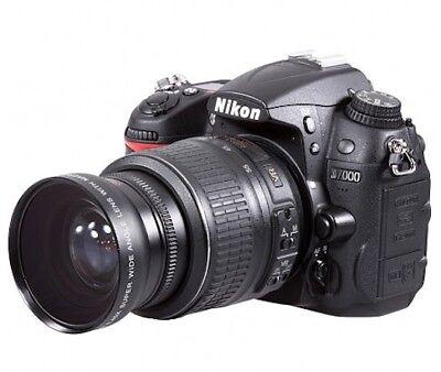 52mm Hd 4k 8k Wide Angle Lens For Nikon D5200 Dslr Camera With 18 55mm Lens Ebay