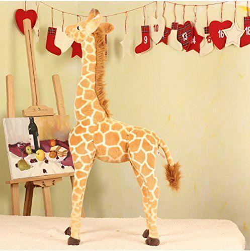96CM Huge Plush Giraffe Toy Doll Large Stuffed Animals Soft Doll kids Xmas Gifts