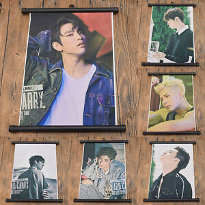 GOT7-Kpop-Member-Scroll-Painting-Poster-Hanging-Wall-Home-Decoration-Fans-Gifts