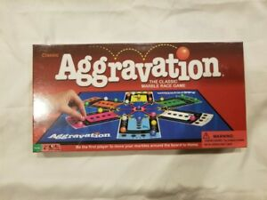 Aggravation-Classic-Game-Marble-Race-Complete-Milton-Bradley-Board-Vintage-New