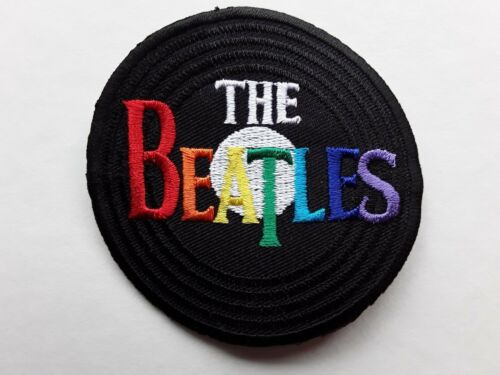 THE BEATLES IRON-OR SEW ON EMBROIDERED PATCH 60S 70s ROCK MUSIC BAND UK SELLER