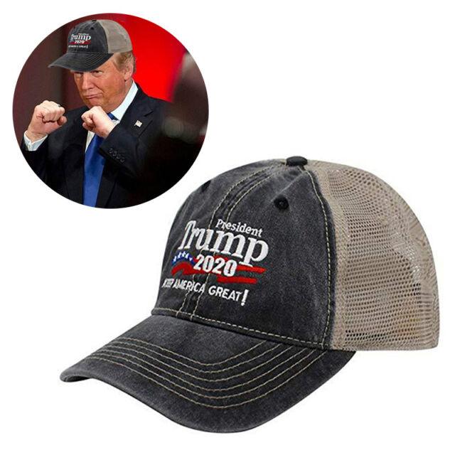 Donald Trump Republican 2020 Cap Adjustable Summer Hat Make America Great Again
