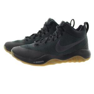 24dcceb3b5545 Nike 852422 Mens Zoom Rev 2017 Mid Top Basketball Training Shoes ...