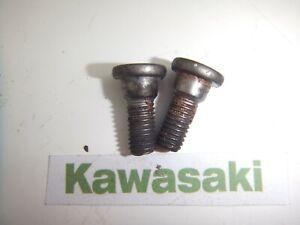 KAWASAKI ZZR600 ZZR 600 E RIDERS FOOT PEG HANGER BOLTS 1 SET 1990 - 2003
