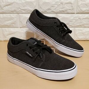 maui and sons surf wide mens size 10 black white skate