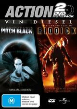 Pitch Black The Chronicles of Riddick 2-Disc Set Region 4 DVD VGC